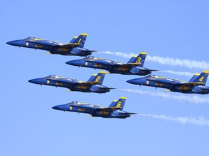 US Navy Blue Angels (credit: City of Jacksonville)