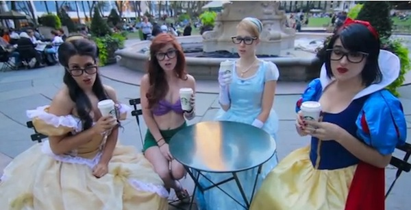 Hipster Disney Princess (credit: AVByte)