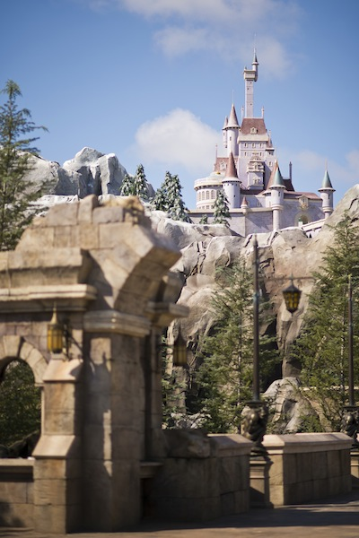 The Beast's Castle (credit: The Walt Disney Company)
