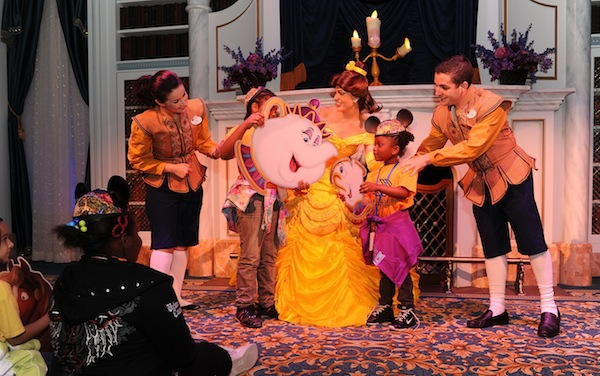 Enchanted Tales with Belle (credit: The Walt Disney Company)