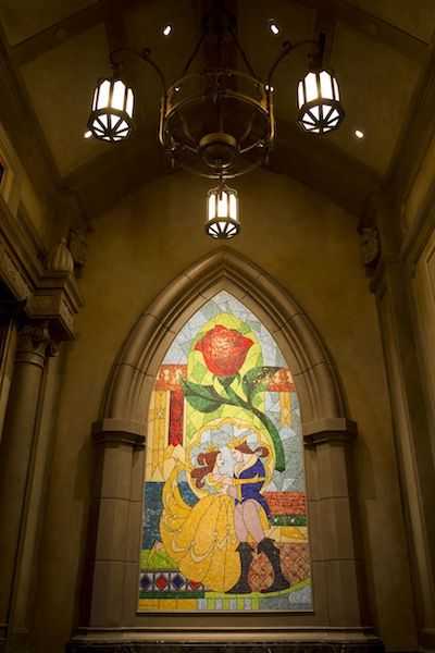 Be Our Guest Restaurant Windows (credit: The Walt Disney Company)