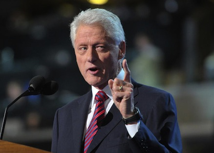 Former President Bill Clinton (credit: Getty Images)