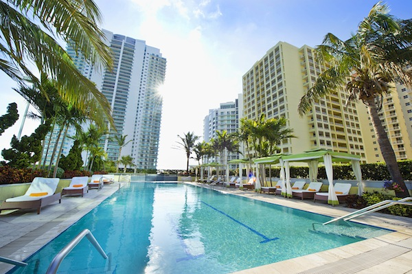 Conrad Miami Pool (credit: The Conrad)