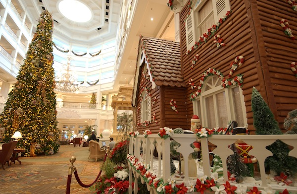 Gingerbread House at Grand Floridian (credit: The Walt Disney Company)