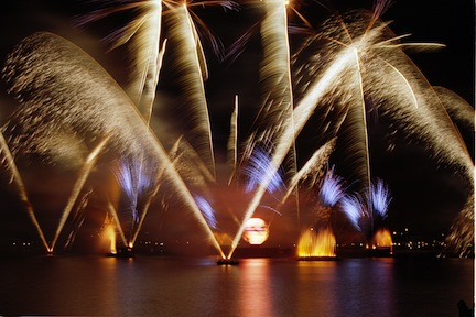 New Year's Fireworks (credit: The Walt Disney Company)