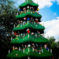 Christmas Tree at Christmas Bricktacular (credit: Legoland)