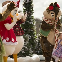 Snow Flurries Forecast for a Limited Time at Epcot (credit: The Walt Disney Company)